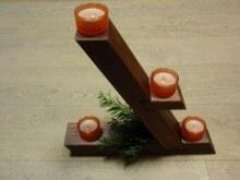 Adventní stojánek atyp na čajové svíčky