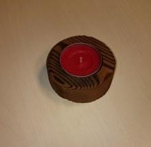 Stojánek kolečko na 1 čajovou svíčku