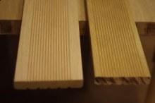 Dubové terasové podlahy jemné drážky