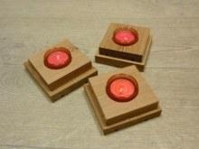 Stojánky na čajové svíčky 10x10