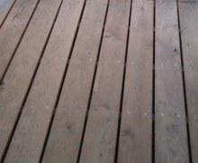 Dubové terasové podlahy hladký povrch