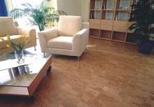 Korková podlaha plovoucí interiér