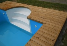 Tepelně upravená finská borovice thermowood bazény vířivky 2